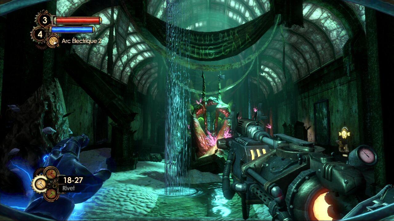 Bioshock 2 Tall Writer