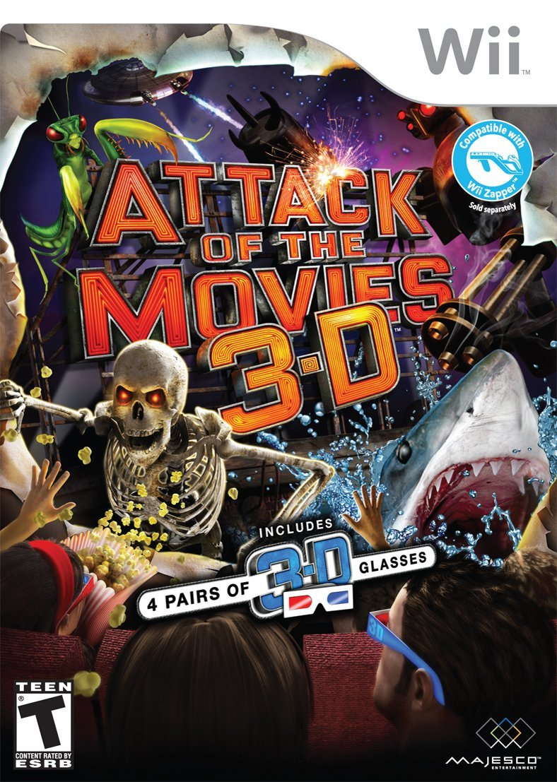 attack of the movies 3d tall writer