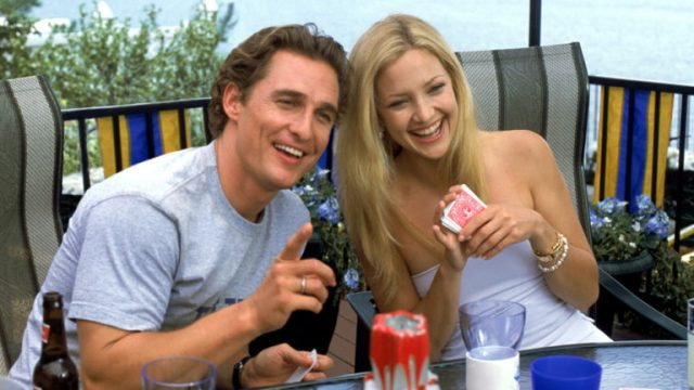 How to Lose a Guy in 10 Days (2003) Directed by Donald Petrie Shown: (l to r) Matthew McConaughey as Benjamin Barry and Kate Hudson as Andie Anderson